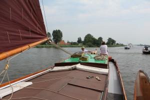 Dagtocht op de Friese meren.